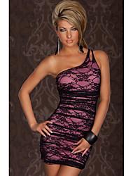 N&S Women's Sexy One Shoulder Bodycon Dress