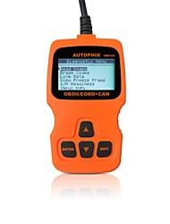 autophix® ferramenta de diagnóstico OBD eobd obd2 leitor de código de OBDII scanner de om123