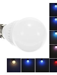 3W E26/E27 LED Globe Bulbs A60(A19) Integrate LED 200 lm Decorative AC 85-265 V