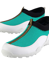PGM Men's Microfiber Leather+Rubber Sole Green Summer Waterproof Breathable Mesh Golf Shoes