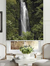 photographique montagne de style art rouleau waterful ombre