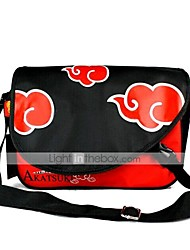 Bag Inspired by Naruto Naruto Uzumaki Anime Cosplay Accessories Bag / Backpack Black / Red PVC Male / Female