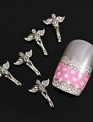 10pcs Fashion  Alloy With Wings Nail Art Decoration