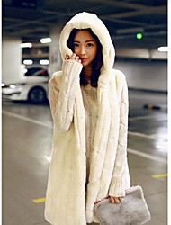 Fashion Sleeveless Hooded Faux Fur Party/Casual Vest (More Colors)
