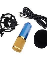 blauw uitzending en opname microfoon bm-800