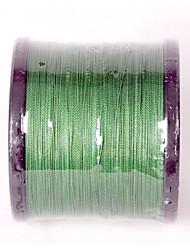 сверхдержавой низким по отношению серый 1000м Плетеная леска (1100 ярдов) расширенный Шнуры 4 нити темно-зеленый TopWin