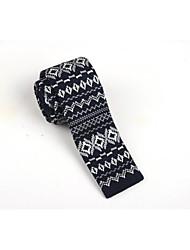SKTEJOAN®   Men's Fashion Knitted Narrow Tie (Width: 5CM)