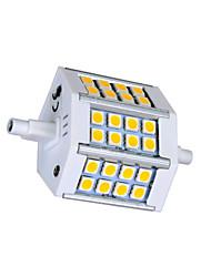 5W R7S LED лампы типа Корн T 24 SMD 5050 330lm lm Тёплый белый / Холодный белый AC 85-265 V