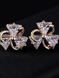 Women's Fashion Shining Delicate Zircon Earrings
