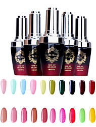 1PCS Creative Soak-Off UV Color Gel No.25-48 Beauty Products (15ml,Assorted Colors)