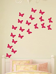 jiubai ™ mur maison de papillon décoration murale sticker