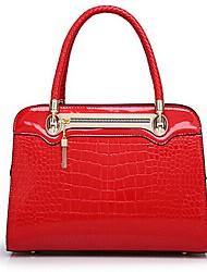 Vergooly European Style Fashion Crocodile Pattern Vintage Single Shoulder Handbag _54