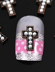 10pcs perle bricolage art accessoires Conseils passage des doigts de la décoration des ongles