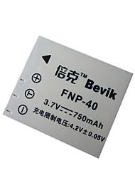 Bevik 3.7V 750mAh FNP-40 Li-ion Battery for ALTEK UCAM SY-730,A10 A12 S12,CAS101,S1000