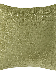 coton oreiller contre ™ / polyester couvre occasionnel solide