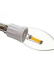 MLSLED E14 1 W 1 COB 75-85 LM 2700-3500 K Warm wit Kaarslampen AC 220-240 V
