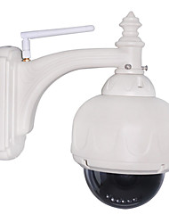 PTZ Outdoor IP Camera 3X Optical Zoom IR-Cut WaterProof Day Night Wireless