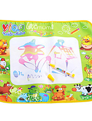 58 * 48 * 1.5cm de los niños de dibujo de agua Mat juguetes de la novedad educativa (tamaño pequeño)