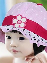 bebê vasos de flores chapéu guarnição