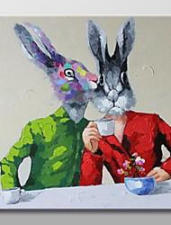 peint à la main peinture à l'huile abstraite moderne avec cadre étiré prêt à accrocher