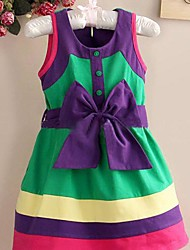 Girls  Bow Design Dress