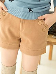 Women's Beige/Black/Gray Shorts Pants , Casual