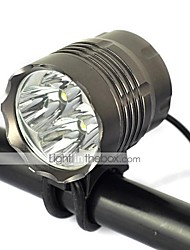 Lights Bike Lights 5000 Lumens Mode Cree XM-L T6 18650 Rechargeable / Impact Resistant / Strike BezelCamping/Hiking/Caving / Cycling/Bike