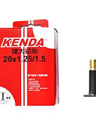 KENDA 20*1.25/1.5 Butyl Rubber AV 32mm Road Bike Tube
