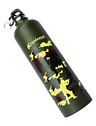 Cycling 750ML Stainless Steel Camouflage Bicycle Water Bottle