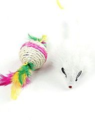 Mouse of Plastic And Ball Pet Toys Cats Product