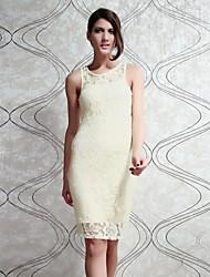 Женская секретный пароль бледно-желтого шнурка Midi платье