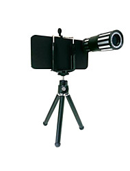 12X Optical Zoom Lens Mobile Phone Telescope Lens with Tripod for Iphone 5