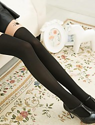 Women's Fashion Two Color Together Spider Pantyhose