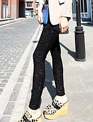 Coway Women's Velvet Flowers Fashion Leggings(Assorted Color)
