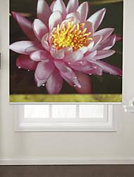 Botanic Style Lotus Roller Shade