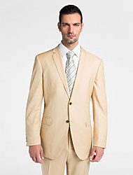 (Premium) Gold 100% Wool Tailored Fit Two-Piece uit