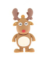 ZP Cartoon Deer Character USB Flash Drive 8GB