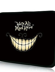 Elonno Smiling Face Tablet Neoprene Protective Sleeve Case for 11'' Macbook Air Dell Acer HP