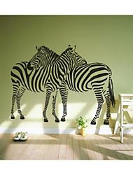 JiuBai™ Love Zebra Home Decoration Wall Sticker Wall Decal