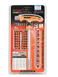 yuanbotong JM-6106 43-en-1 effort provincial t- forme tournevis outils du Kit