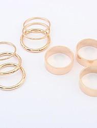 européen style punk anneau de métal ensemble (plus de couleurs)