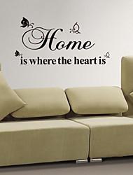 jiubai ™ домой цитата украшения дома наклейки наклейки на стены
