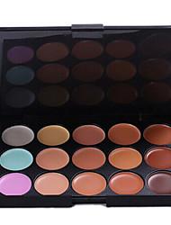 15 colores crema base corrector