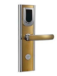 High Quality Silver/Golden Color Zink Alloy Moisture Proof ID or EM Card Used in Office Hotel Door Lock for PY-8018