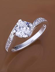 Minze 925 Silber Zirkon Ring