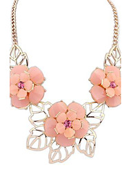 European Style Sweet Fresh Flowers Necklace(More Colors)