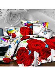 Ailianna 3D Affection Print Duvet Set