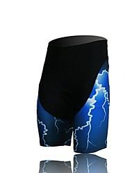 XINTOWN Unisex The High Quality Terylene Lightweight Cycling Shorts—Black+Blue