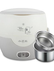 220V Electric Stainless Steel  Plugged Rice Cooker Heating Lunch Box