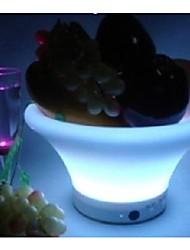 Fashion LED Fruit bowl/Plastic LED Ice bowl